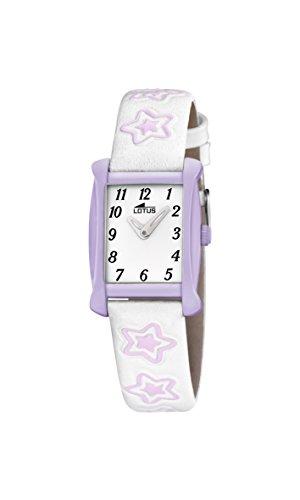 Lotus Maedchen Armbanduhr Analog Quarz Leder 18256 4