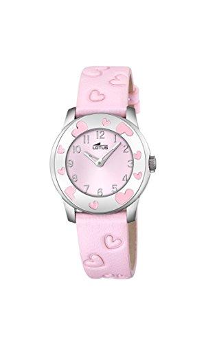 Lotus Maedchen Armbanduhr Analog Quarz Leder 18273 2