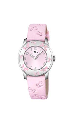 Lotus Maedchen Armbanduhr Analog Quarz Leder 18272 2
