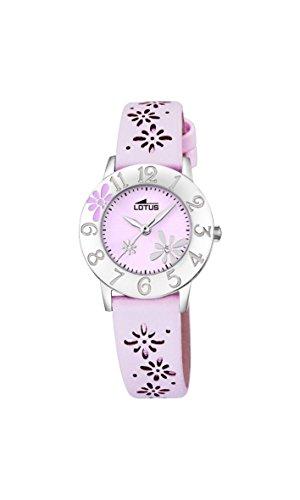 Lotus Maedchen Armbanduhr Analog Quarz Leder 18270 3