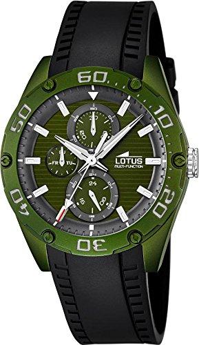 Lotus Sport 18183 2 Herrenarmbanduhr Aluminiumgehaeuse