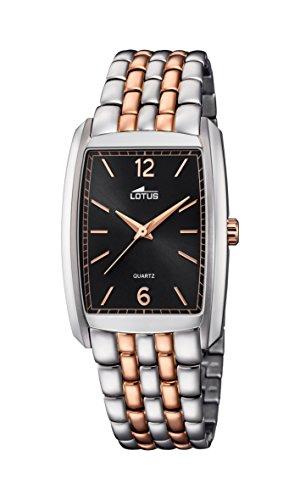Lotus Unisex Armbanduhr Analog Quarz Edelstahl 18354 4