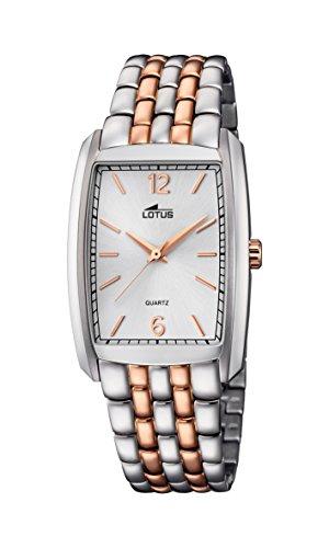 Lotus Unisex Armbanduhr Analog Quarz Edelstahl 18354 2