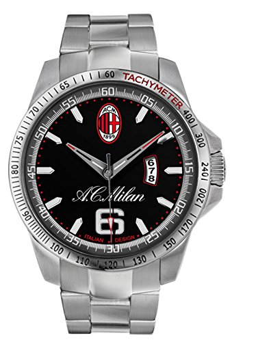 AC Milan Herren Armbanduhr Quarz Edelstahl M7394UN1
