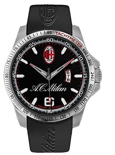 AC Milan Herren Armbanduhr Analog Quarz Gummi M1394UN1