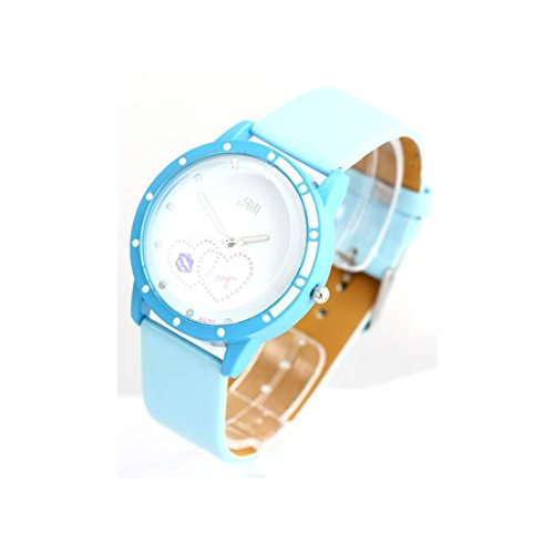 Zeigt Damen Armband Leder Blau 1669