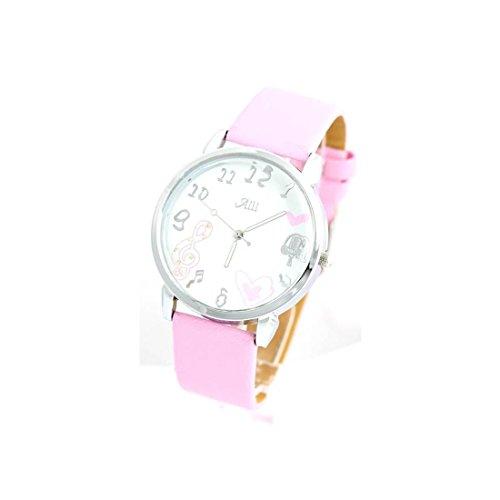Zeigt Damen Armband Leder rosa 1509