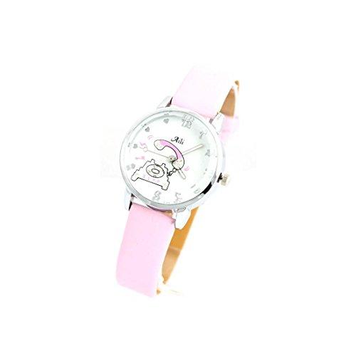 Zeigt Damen Armband Leder rosa 1505