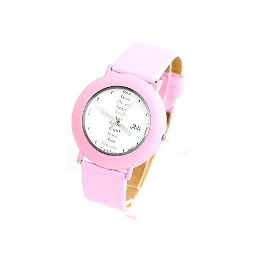 Zeigt Damen Armband Leder rosa 1512