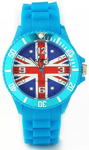 Anderson Webb Union Jack Blue Strap Unisex Watch