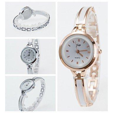 2016 neue Ankunft modische Damen Armbanduhr Armband Armbanduhr der Frauen eleganten Quarzuhren Farbe Silber