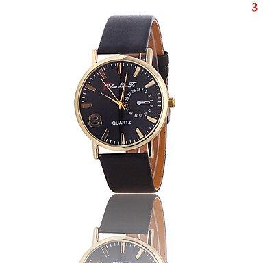 2016 positiv Paar Uhren Marke Sportmode Quarzuhr 8 Farbe Weiss Geschlecht Fuer Damen