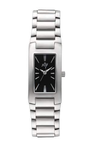 Joy Damen-Armbanduhr Analog Quarz Edelstahl JW604