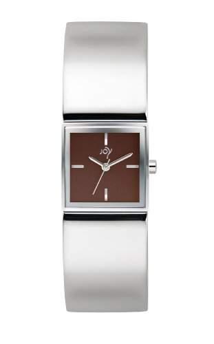 Joy Damen-Armbanduhr Analog Quarz Edelstahl JW612