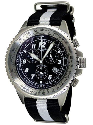 Aeromatic 1912 3 Augen Stopp Chronograph A1222SW
