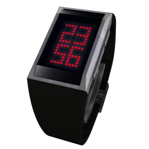 Armbanduhr LM104 MAZZ WATCH mit roter Anzeige