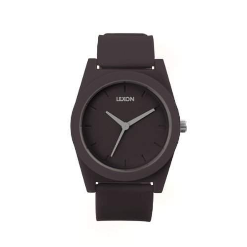 Lexon Armbanduhr Spring Ø 4,1cm, schwarz