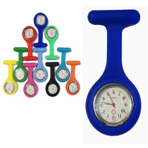 Domire Fashion Brosche Herzform Silikon Krankenpflegepersonal Fob Watch