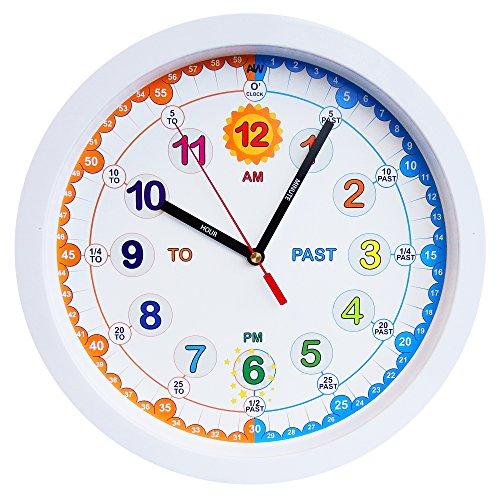 Aniclock Uhr zeit lehrer Dieses analoge Zeit Lehrer hilft Ihrem Kind beim Lernen zu sage