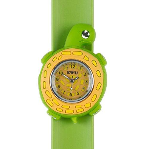 Schildkroete Uhren 3D Tiere Multi Farbe einfach zu lesen Uhr Mode Uhren Zeit unterrichten von Kindern Jungen Maedchen Splash bestaendig einfach dranklipsen armbanduhr armbanduhren Geburtstag Weihnachten