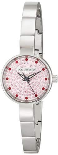 Android Damen AD583APK Mini Star Pave Armbanduhr