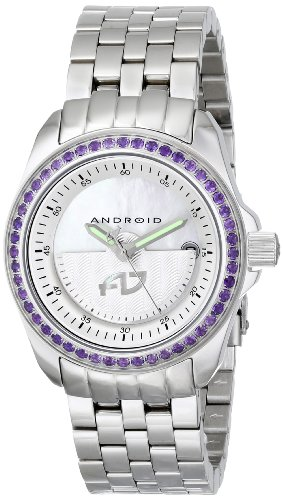 Android Rotator 41mm Automatic Gemstone MOP Dial AD764APU