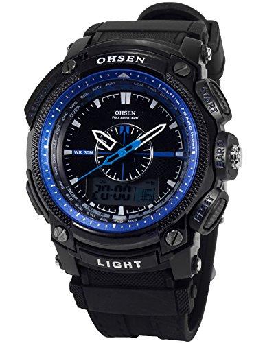 OHSEN LED Digital Sport Datum Armbanduhr Sportuhr Quarzuhr Uhr OHS052