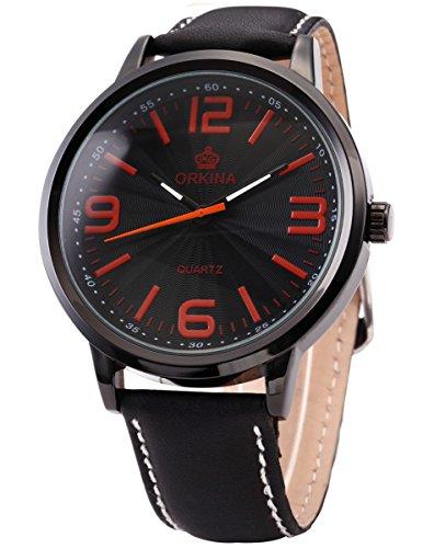 ORKINA Elegant Armbanduhr Quarzuhr Uhr ORK044