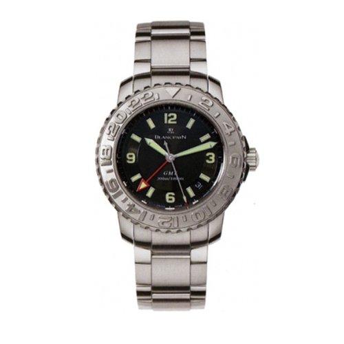 Blancpain 2250 1130 71 Uhr fuer Maenner Edelstahl Armband Silber