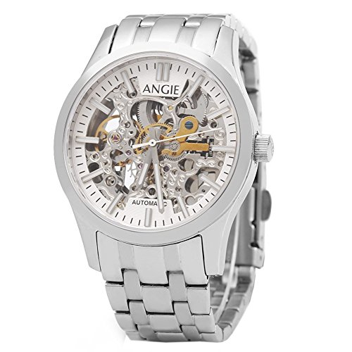 Leopard Shop Angie st7183l frederis Serie automatische Wind Mechanische Uhr Hollow Zifferblatt Luminous 5 ATM Sport 4