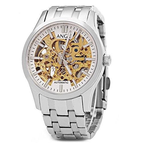 Leopard Shop Angie st7183l frederis Serie automatische Wind Mechanische Uhr Hollow Zifferblatt Luminous 5 ATM Sport 2