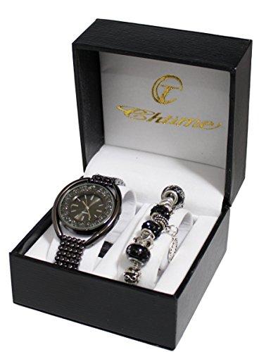 Geschenkbox Damen Uhr Charm Armband Perlen Kollektion Dolce Vita