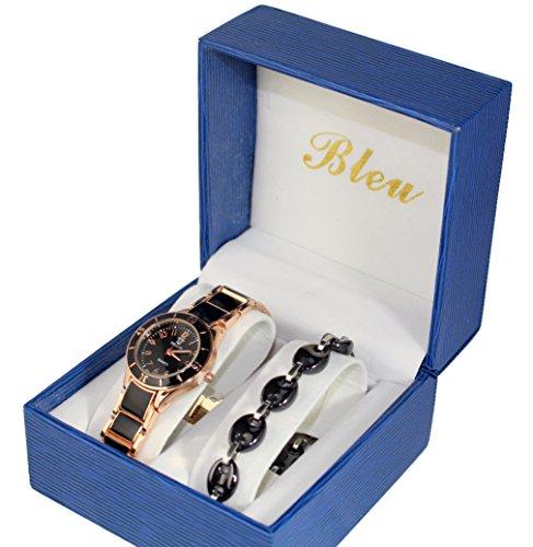 Pack zeigt Damen Keramik Gold Rosa Armband Keramik Collection Dolce Vita