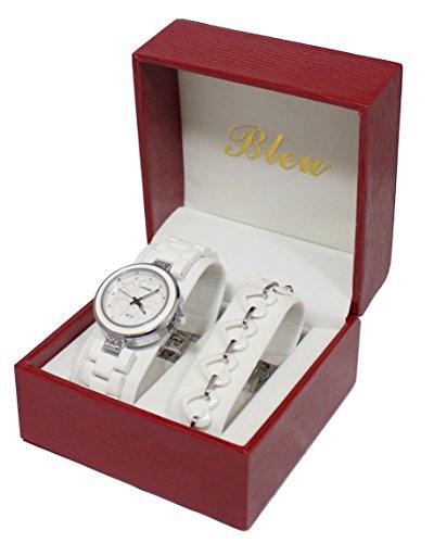 Pack zeigt Damen Keramik Weiss Armband Keramik Collection Dolce Vita