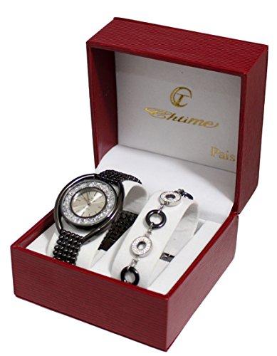 Box zeigt Damen Strass Armband Milanaise Collection Dolce Vita