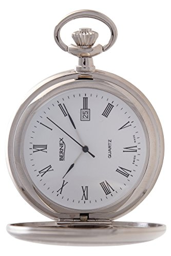 gb21234 rhodiniert Full Hunter Quarz Uhrwerk Arabisch Zifferblatt weisses Zifferblatt