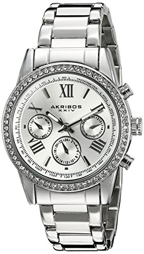 Akribos XXIV Damen Armbanduhr Woman AK872SS Analog Quarz