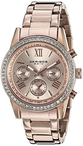 Akribos XXIV Damen Armbanduhr Analog Quarz AK872RG