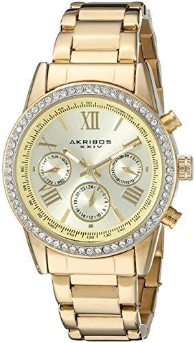 Akribos XXIV Damen Armbanduhr Analog Quarz AK872YG