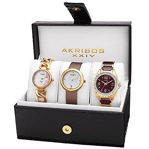 Akribos XXIV Damen Armbanduhr Analog Quarz AK887YG