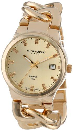 Akribos XXIV Impeccable Analog Quarz AK608YG