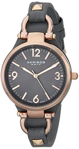 Akribos XXIV Damen Armbanduhr Impeccable Analog Quarz AK761GY