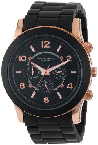 Akribos XXIV Damen Armbanduhr Ultimate Multifunktions Armband Quarz