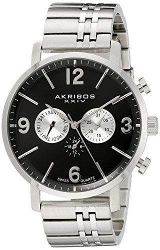 Akribos XXIV AK782SSB Analog Quarz