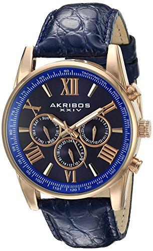 Akribos XXIV Herren Armbanduhr Man AK864RGBU Analog Quarz AK864RGBU