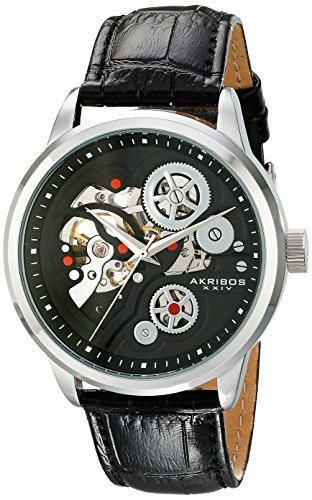 Akribos XXIV Mechanical Skeleton Analog Automatik AK538BK