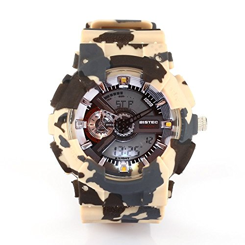 Bistec LED Dual Movement Time Camouflage Multifunktions
