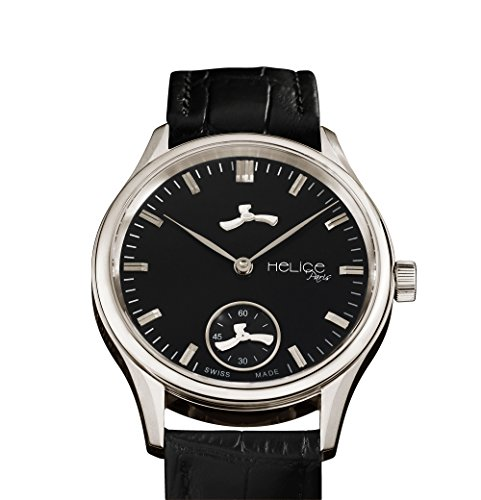 Helice Classic Premium Black Schwarz 43 mm
