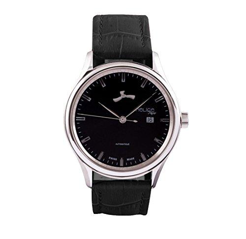 Helice Automatic Premium Black Schwarz 43 mm