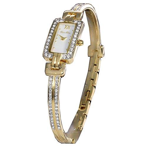 Carpe Diem Cassandra elegante Damenarmbanduhr mit weissem Zifferblatt